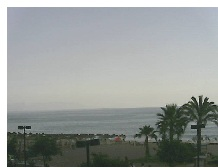 Webcam Playa Tahiti Fuengirola